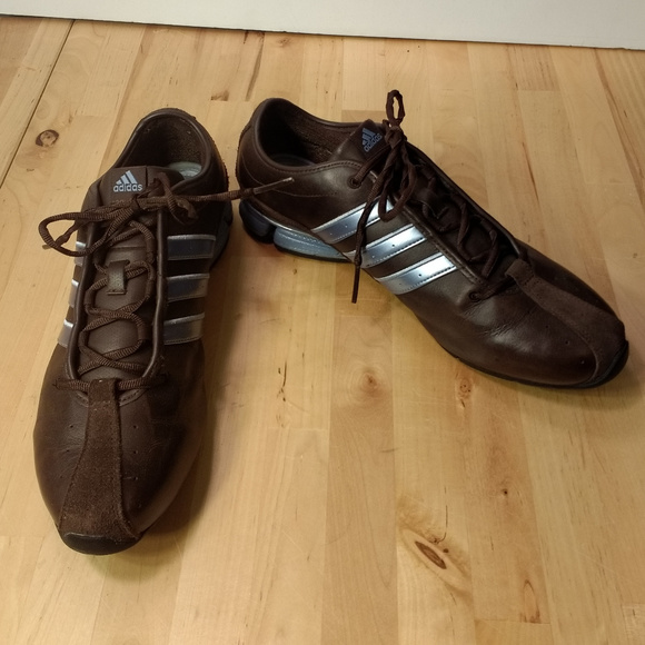 Adidas Women's Leather Running Shoes Size 10